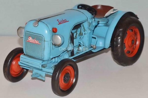 Blechmodell - Traktor, Schlepper Eicher 1960 ca. 31 cm