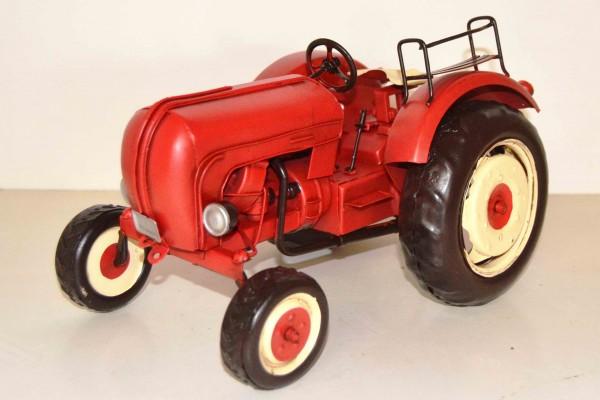 Blechmodell - Traktor, Schlepper Porsche 1960 ca. 28 cm