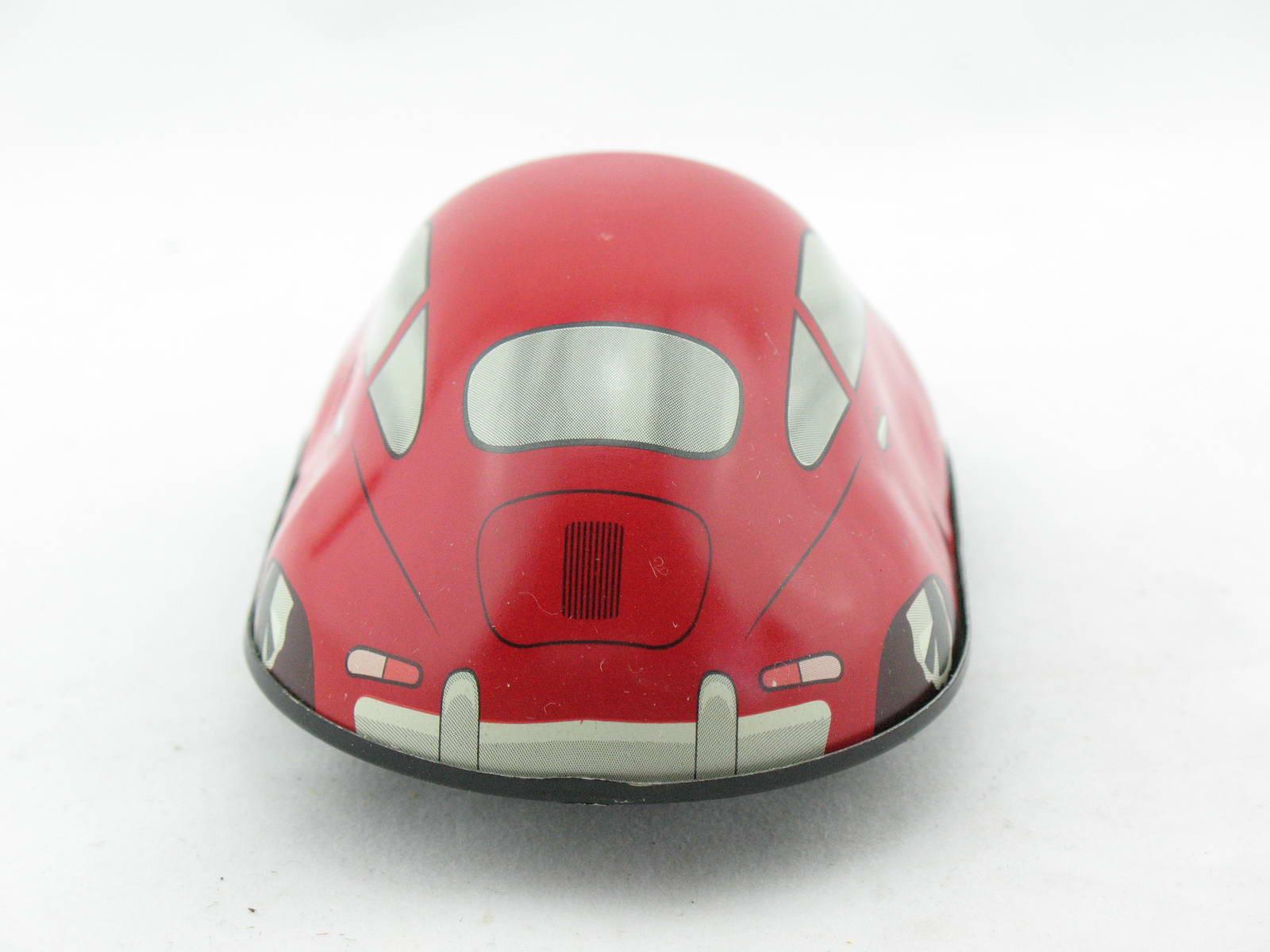 Wendeauto Porsche 356 Sondermodell rot von KOVAP 0563-r Blechspielzeug