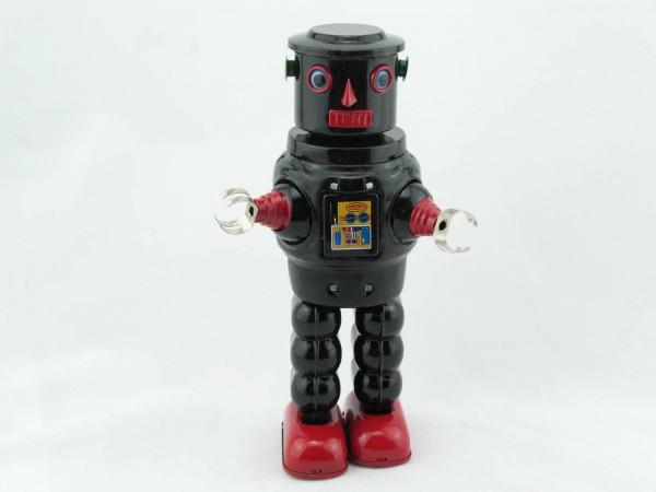 Blechspielzeug - Roby Robot schwarz