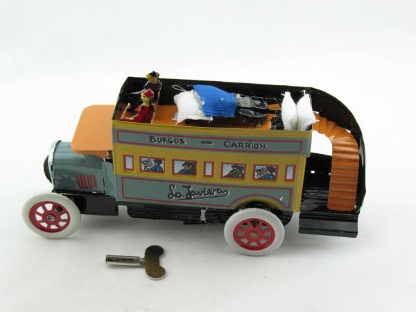 Blechspielzeug - Doppeldeckerbus Nr.8