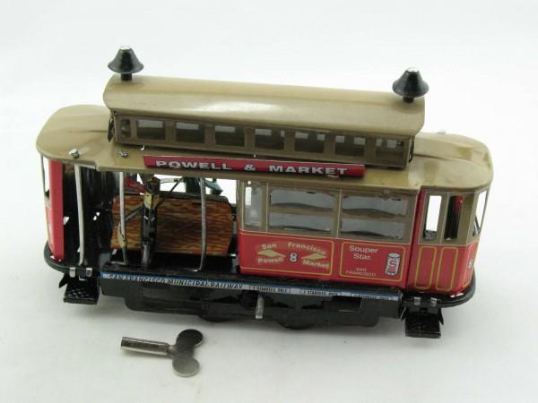 Blechspielzeug - Straßenbahn Powell & Market, Paya Kopie