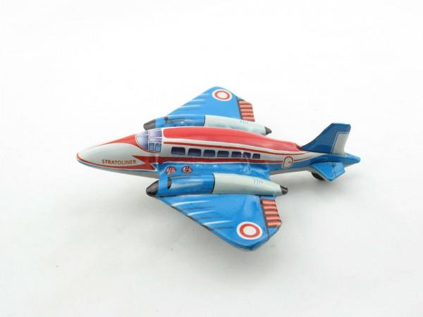 Blechspielzeug - Flugzeug Stratoliner mit Friktionsantrieb