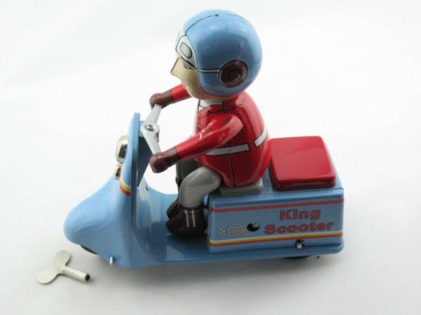 Blechspielzeug - Motorrad King Scooter