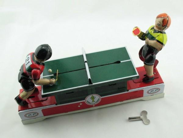Blechspielzeug - Tischtennis mit 2 Spielern