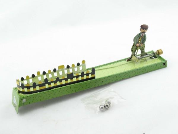 Blechspielzeug - Golfspieler aus Blech Pennytoy