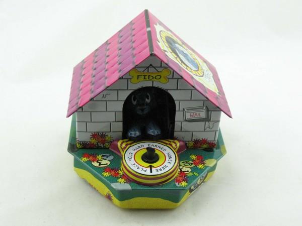 Blechspielzeug - Spardose Hund Fido