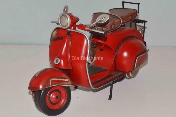 Blechmodell - Roller Vespa 1959 rot