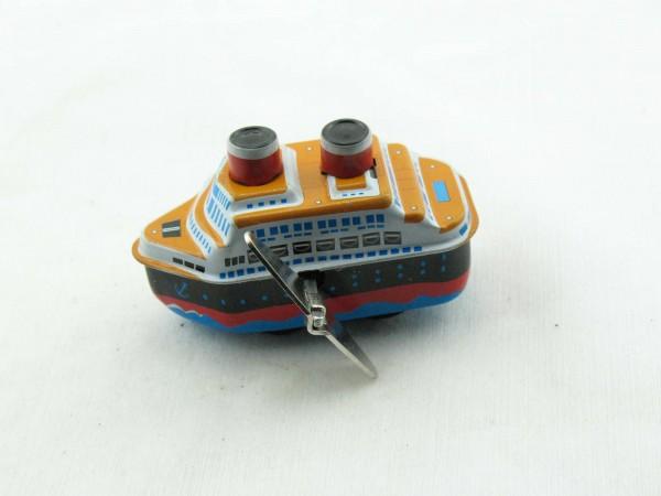 Blechspielzeug - Frachtschiff, Cargo Ship mini