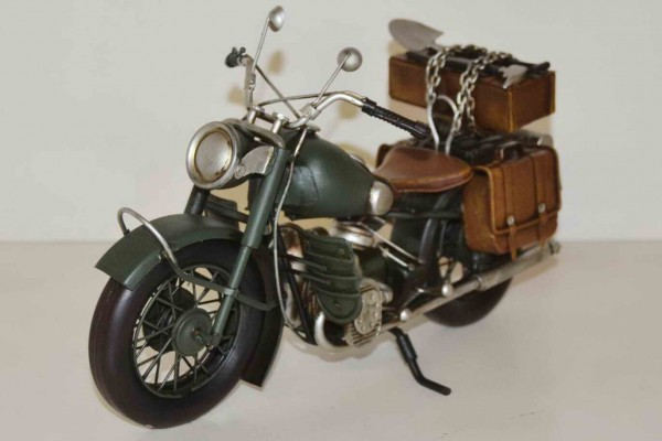 Blechmodell - BMW Motorrad R75 Militär
