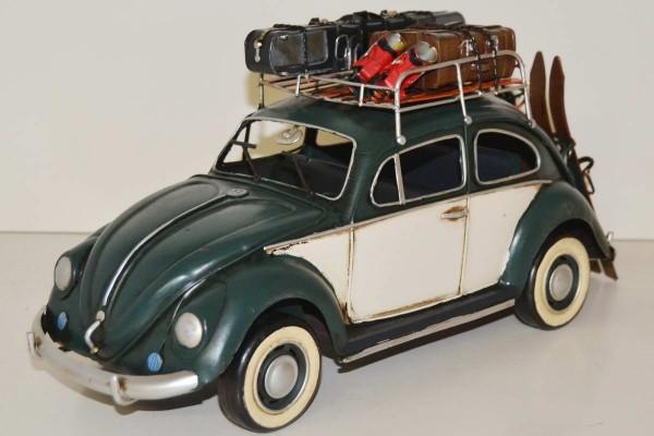 Blechmodell - VW-Käfer Winterurlaub 1934