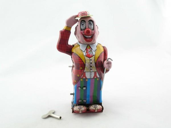 Blechspielzeug - Grüßender Clown