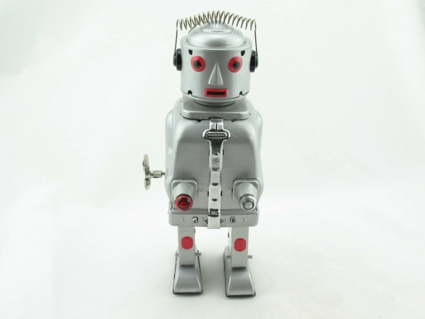 Blechspielzeug - Roboter Mr. Robot, The Mechanical Brain
