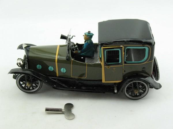 Blechspielzeug - Auto Limousine mit Chauffeur
