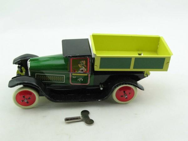 Blechspielzeug - Auto LKW Kipper, grün