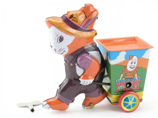 Blechspielzeug - Hase mit Karre