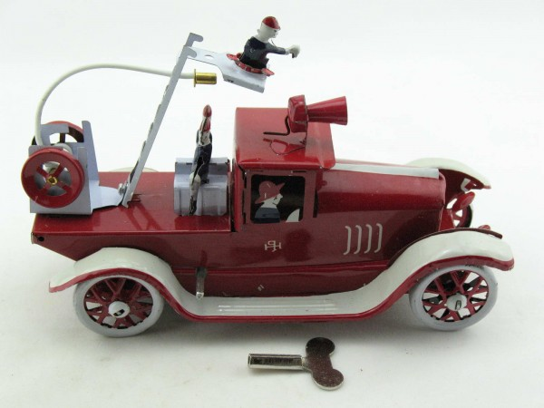 Blechspielzeug - Feuerwehr Leiterwagen Paya-Imitation