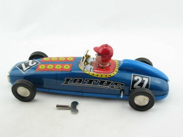 Blechspielzeug - Auto LOTUS Rennwagen blau