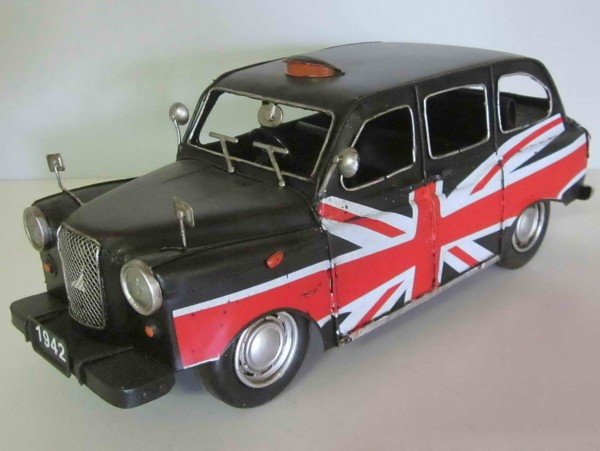 Blechmodell - London-Taxi