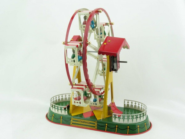 Blechspielzeug - Riesenrad mit 6 Gondeln BRD
