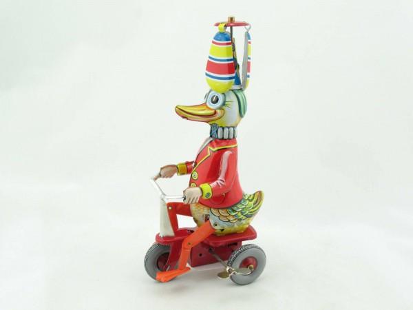 Blechspielzeug - Ente auf Dreirad BRD