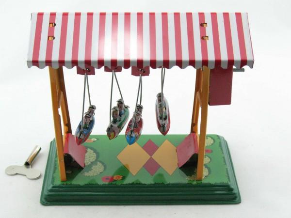 Blechspielzeug - Schiffschaukel mit Gondeln