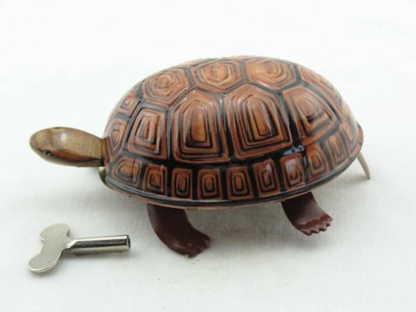 Blechspielzeug - Schildkröte mit Uhrwerk