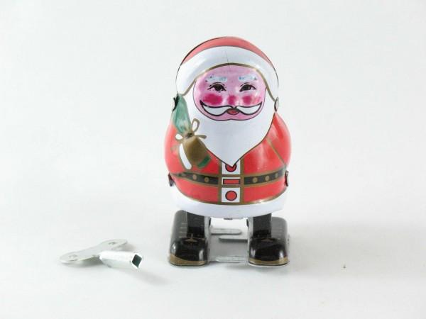 Blechspielzeug - Weihnachtsmann klein