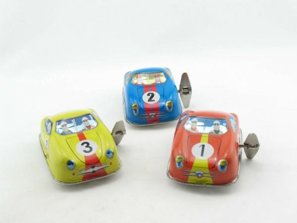 Blechspielzeug - Rennwagen - DBS 1+2+3 (3er Set im Karton)
