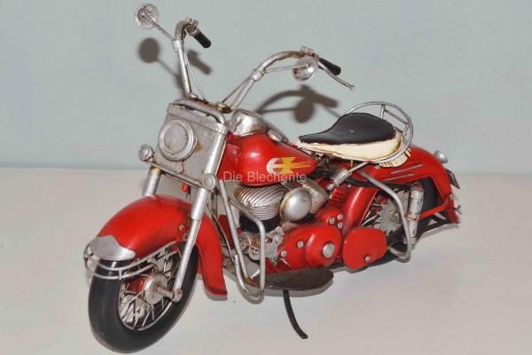 Blechmodell - Motorrad Harley 1957