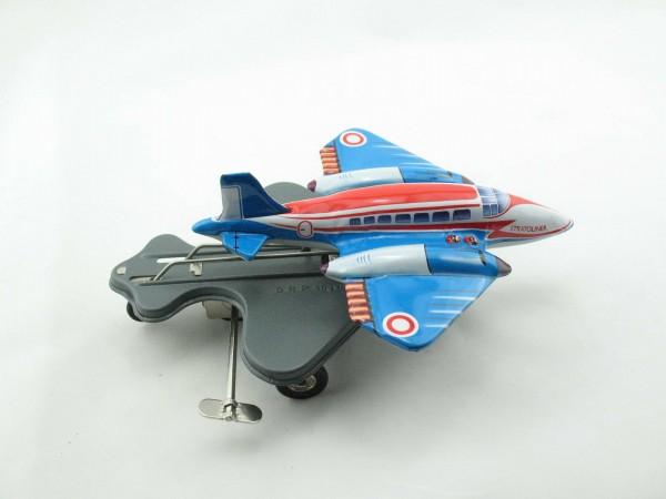 Blechspielzeug - Flugzeug Stratoliner Flying Hops mit Uhrwerk
