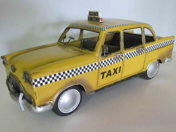 Blechmodell - US-Taxi 1950