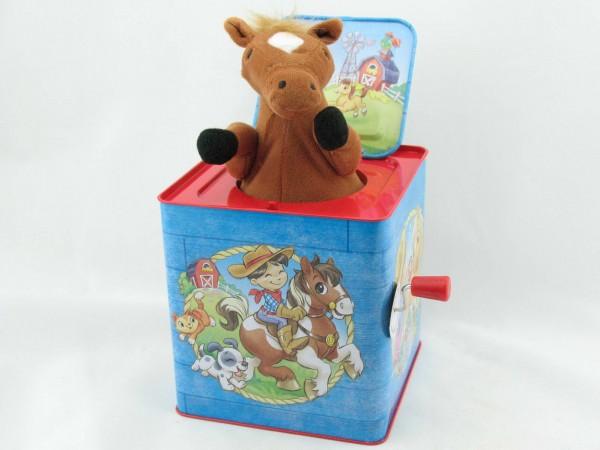 Blechspielzeug - Jack in the Box Pony, Poppin' Pony