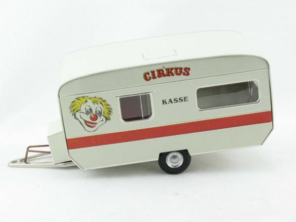 Wohnwagen Zirkuskasse von KOVAP - Blechspielzeug