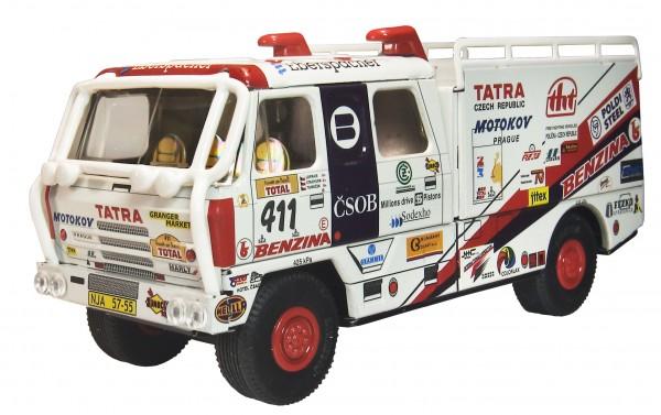 Tatra 815 LKW Rallye Granada – Dakar 1995 von KOVAP, Neuheit 2020 – Blechspielzeug