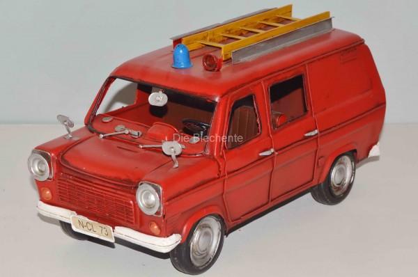 Blechmodell - Ford-Transit Feuerwehr Gerätewagen 1950