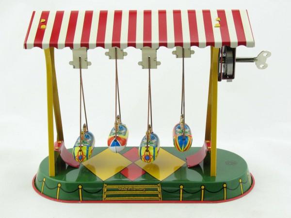 Blechspielzeug - Schiffschaukel mit Gondeln BRD
