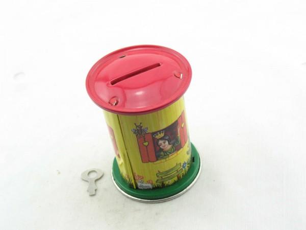 Blechspielzeug - Spardose Schneewittchen, rund