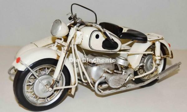 Blechmodell - Motorrad BMW R60 mit Beiwagen, 1961