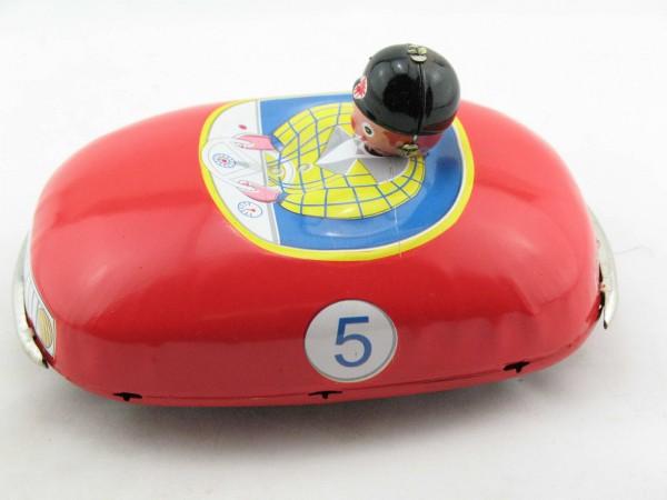 Blechspielzeug - Auto Scooter Bumper Car mit Uhrwerk