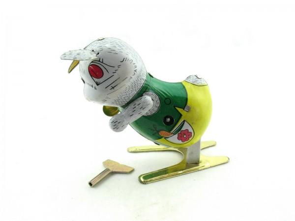 Blechspielzeug - Hase groß hüpfend