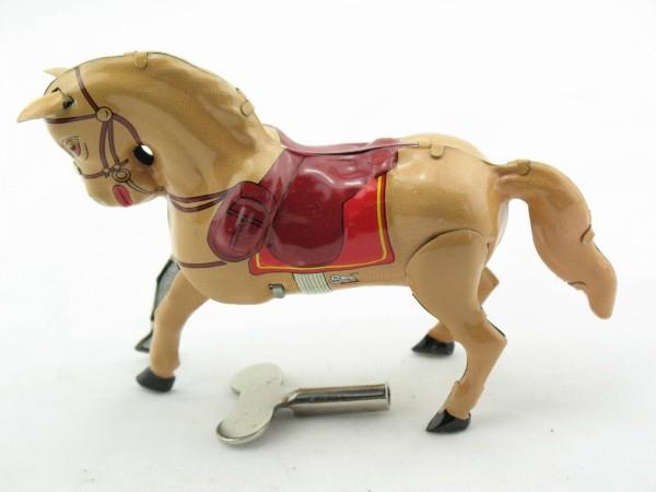 Blechspielzeug - Pferd aus Blech Palomino