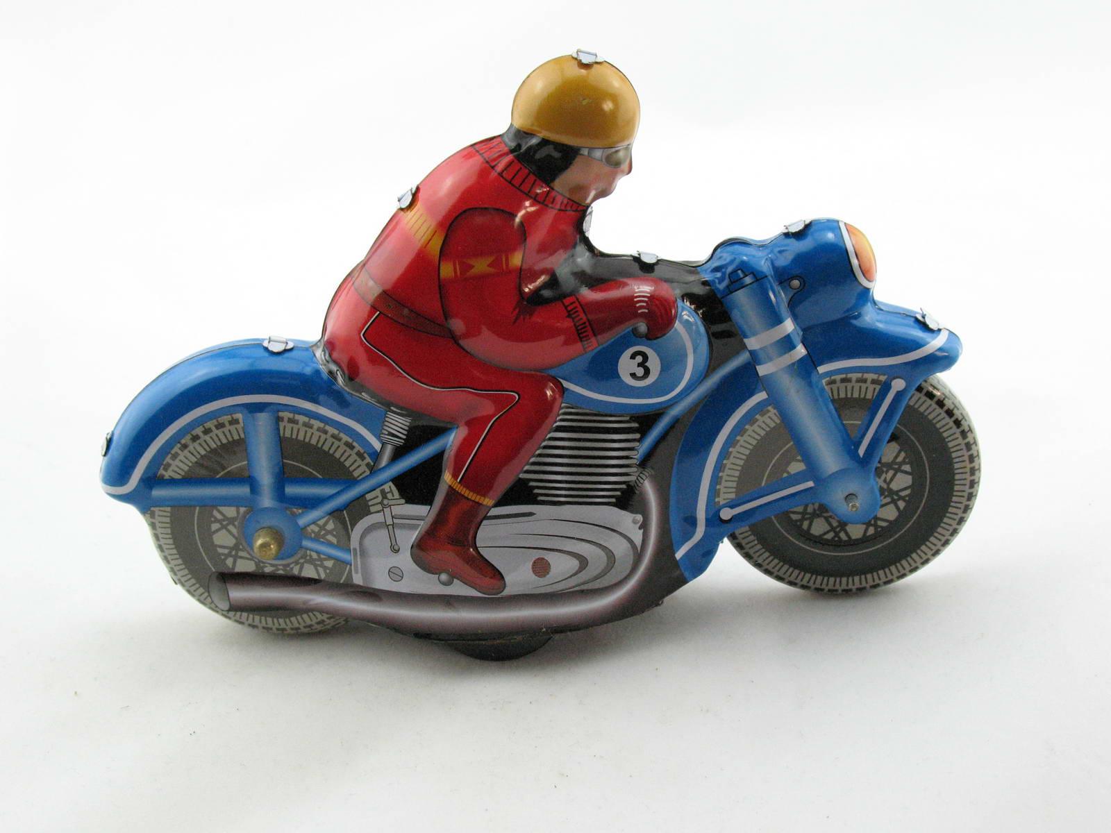 Motorrad Blechspielzeug Rennmotorrad Motodrive  3220395