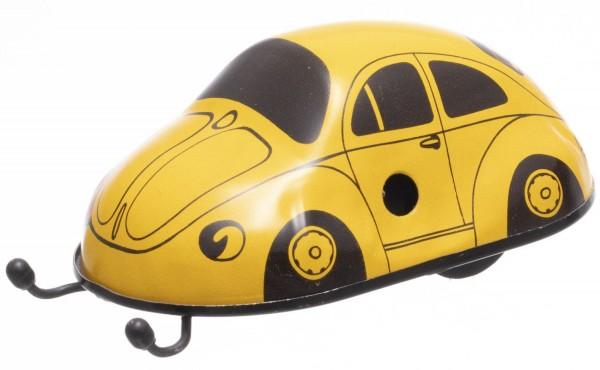 Wendeauto Nr. 12, gelb, Neuheit 2021 von KOVAP - Blechspielzeug