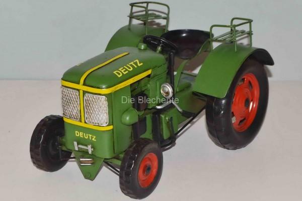 Blechmodell - Traktor, Schlepper Deutz 1950 ca. 25 cm
